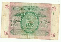 British Military Authority 2 Shilling / 6 Pence 1943 - British Military Authority