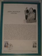 FDC, Léon Jouhaux (1879/1954) - Paris - 12.5.1979 - 1er Jour, Collection Historique - FDC