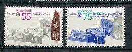 Pays-Bas** N° 1355/1356 - Europa - Année 1990 - 1980-... (Beatrix)