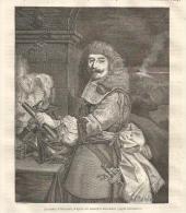 GRAVURE De 1851... Le Comte D'Harcourt, D'après Les Estampes Nationales - Estampas & Grabados