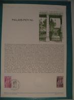 FDC, Palais Royal - Paris - 19.5.1979 - 1er Jour, Collection Historique - FDC