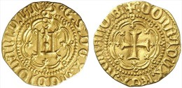 [DO] GENOVA - Galeazzo M. Sforza (1466-76)   DUCATO (Oro/Or/Gold) - Monnaies Régionales