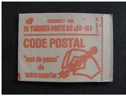 TB Carnet N° 1816-C5 Avec Numéro Sur La Marge, Neuf XX. - Usage Courant