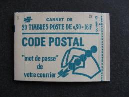 TB Carnet N° 1893-C1 , Avec Date Sur La Marge, Neuf XX. - Carnets