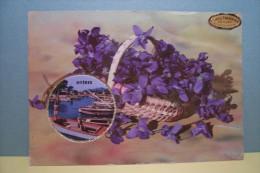 HYERES  - Carte Parfumée - Hyeres