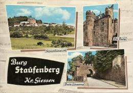 ~    BURG  STAUFENBERG KR .  GIESSEN  .   3 Vues .     . Bien Sympa Et Pas Chére  ~ - Germany