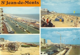 VENDEE-SAINT JEAN DE MONTS Vues Sur Les Plages Et Le Boulevard-MB - Saint Jean De Monts