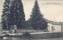 CPA Lentilles - Maison Brouillard Et Route De Lahore - France