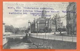 FEL425, Leipzig , Circulée 1911 - Leipzig