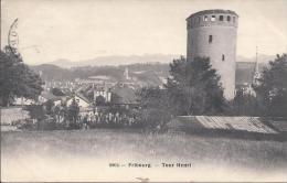 8639 - Fribourg  Tour Henri - FR Fribourg