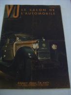 VU LE SALON DE L'AUTOMOBILE N°V185 SEPTEMBRE 1931 PEUGEOT RENAULT MATHIS DELAGE CADILLAC ROLLS PANHARD HISPANO BUGATTI - Journaux - Quotidiens