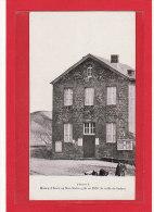 STONNE (08) / ECOLES / Maison D´Ecole Où Mac-Mahon Gîta En 1870 ( La Veille De Sedan ) - France