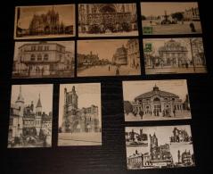 Lot De 10 CPA Et CPSM Petit Format  De La Ville De TROYES (Aube) - Cartes Postales