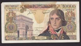 BILLET DE 10000 FRANCS  NAPOLEON BONAPARTE De 1956 - 1871-1952 Anciens Francs Circulés Au XXème