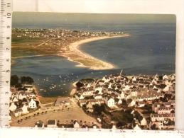 CPM (29) Finistère - LESCONIL - Le Petit Port Et La Grande Plage Vers Larvor Et Loctudy - Lesconil