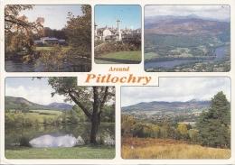 BT17691 Around Pitlochry   2 Scans - Kinross-shire