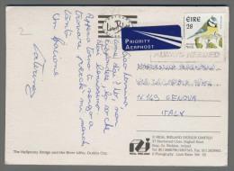 C71 EIRE Postal History 1992 ANIMAL BIRD - 1949-... Repubblica D'Irlanda