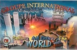 Carte De QSL -world Trade Center-tour De Pise--cpm  Longvic-france - CB-Funk