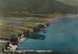 CALDONAZZO  /   IL Lago  Con Il  Lido - Soggiorno Estivo   _ Viaggiata - Trento