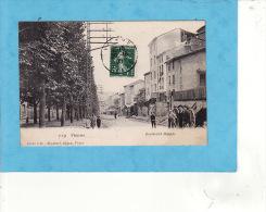 ..491)  VIENNE  Animation Boulevard Maupas 1908 ( TRES LEGERE TACHE PRESQUE INVISIBLE  !1 ANGLE SINON TTB ) 6 - Vienne