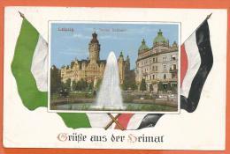 FEL428, Grüsse Aus Der Heimat, Leipzig , Circulée 1915 - Leipzig