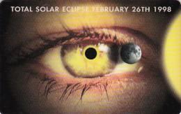 Antilles (Netherlands), PRE-ANT-1005, Total Solar Eclipse February 26th 1998 (no.1), 2 Scans. - Antilles (Netherlands)
