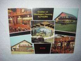 """Elen (Baan Tongeren-Maaseik) Dancing """"Alphorn"""" -  Oberbayern Disco-music Steenweg, 5a Elen - Dilsen-Stokkem"""