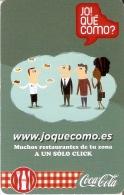 CALENDARIO DE ESPAÑA DE COCA-COLA  (COKE) (CALENDRIER-CALENDAR) - Calendarios