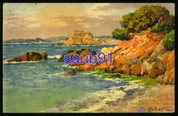 Illustrateur Etienne Robert  - Peintre Provençal - N° 76   -   Bord De Mer - Réf: 30059 - Robert