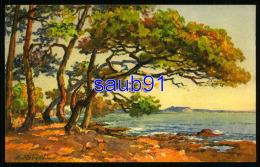 Illustrateur Etienne Robert  - Peintre Provençal - N° 73  -   Bord De Mer - Réf: 30062 - Robert