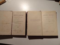 NOUVEAU COURS DE MEDITATIONS SACERDOTALES PAR R.P CHAIGNON (1871)TOME 1&4 - 1801-1900