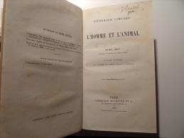 PSYCHOLOGIE COMPAREE L´ HOMME & L´ANIMAL PAR HENRI JOLY  1877 - Libri, Riviste, Fumetti