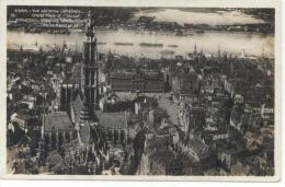 Antwerpen. Anvers. Luchtopname. Hoofdkerk, Schelde, Grote Markt. Vue Aérienne, Cathédrale, Escaut. - Antwerpen