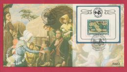 SOUTH AFRICA 1988, Cover Voortrekkers FDC Fed Nr. 3 (4.24ms) - South Africa (1961-...)