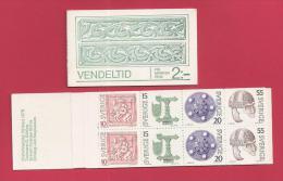 SWEDEN 1975, Mint Booklet Vendelit - Booklets