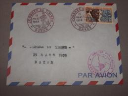 Aof Enveloppe Journée Du Timbre Office Des Postes Et Télécommunication - Lettres & Documents