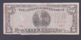 PHILIPINES  5  PESOS     Japanese Government   -    (Nº03845) - Philippinen