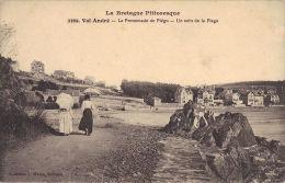 2369 - VAL ANDRE - La Promenade De Piegu  - Un Coin De La Plage - France