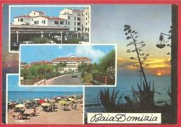 CARTOLINA VG ITALIA - SESSA AURUNCA (SA) - Baia Domizia - Vedute - 10 X 15 - ANNULLO CELLOLE 1972 - Caserta