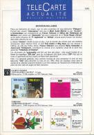 """TELECARTE ACTUALITES, """"Invitation Aux Loisirs"""", Edition De Mai 1995, 12 Pages (14,8 Cm Sur 21 Cm) - Télécartes"""