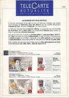 """TELECARTE ACTUALITES, """"Au Bonheur Des Telec'artistes"""", Edition D'avril 1995, 12 Pages (14,8 Cm Sur 21 Cm) - Télécartes"""