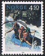 Norway SG1161 1993 Nordic Countries' Postal Cooperation. Tourist Activities 4k.50 Good/fine Used - Norwegen