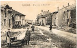 MEURTHE ET MOSELLE 54.DOULON PLACE DE LA FONTAINE - France