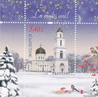 MOLDOVA  MOLDAVIE MOLDAWIEN  MOLDAU 2010 Christmas ; Blok ; MNH - Moldova