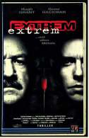 VHS Video Thriller ,  Extrem... Mit Allen Mitteln  -  Mit : Hugh Grant, Gene Hackman  -  Von 1998 - Action, Aventure