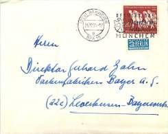 Bund Nr 215 10 Jahre Vertrebung Auf Brief - BRD