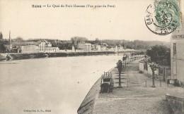Sens  89   Le Quai Du  Petit Hameau      CPA 1910 TB - Sens