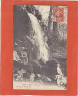 CPA VIRE DANS LES VAUX SIGNEE 10/4/17 SEMEUSE SURCH N°147 - Cartes Postales
