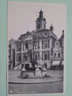 L'Hotel De Ville Et Le Bassinia - Anno 19?? ( Zie Foto Voor Details ) !! - Hoei