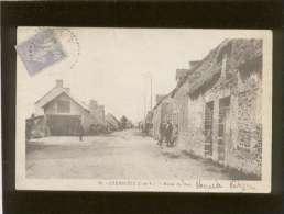 35 Cherrueix Route Du Han Pas D'édit.n° 35  Animée , Chaumière - Francia